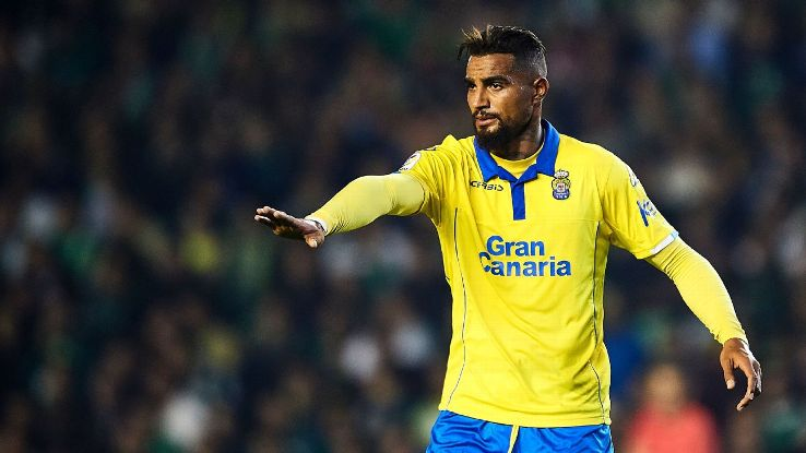 Las Palmas terminate Kevin-Prince Boateng's contract
