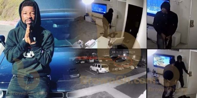 CCTV camera captures the killers of Junior US