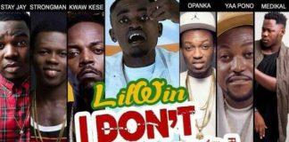 Lil Win - I Don't Think Far (Remix) (Feat Stongman, Medikal,Yaa Pono, Kwaw Kese, Stay J & Opanka) (Prod. by Slo Dezzy) (GhanaNdwom.com)