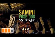 Samini - Do That (Feat. Fuse ODG)
