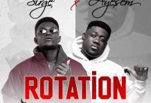 Sirge - Rotation (feat Ayesem) (Prod By Simps Onda Beats) (GhanaNdwom.net)