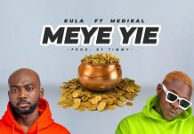 Kula - Meye Yie ft. Medikal (Artwork)