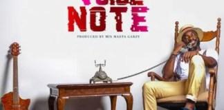 Kwabena Kwabena - Voice Note (Prod. by Masta Garzy)