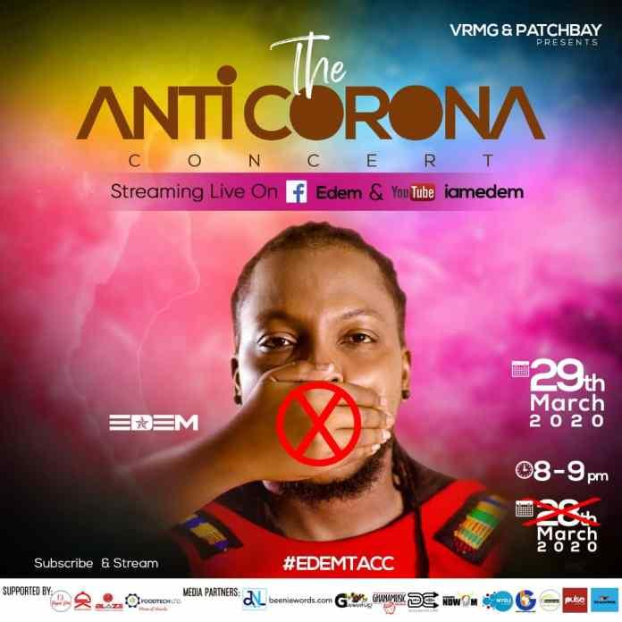 The Anticorona Concert