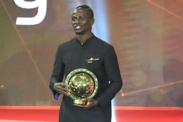 2019 Caf Awards: Sadio Mane wins African Player of the Year