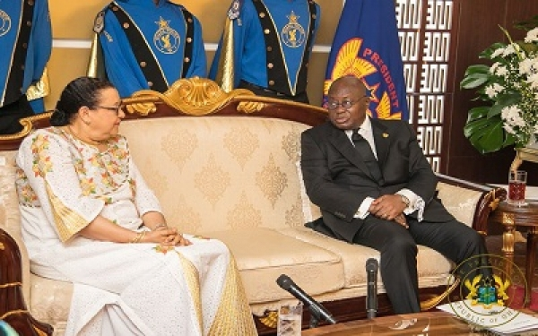 President receives seven envoys' credentials