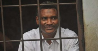 Ali Gabass turns lecturer in Nsawam Prison