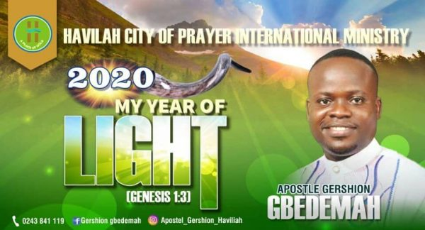 Juaboso: Prophet Gbedemah drops 40 new Prophecies for 2020
