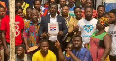 NPP Primaries: LMVCA Convener David Asante picks nomination forms