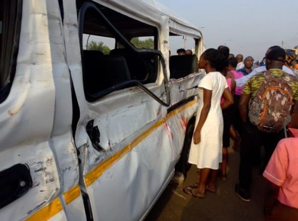 Kumasi: One dead, six injured in gruesome Abrepo accident