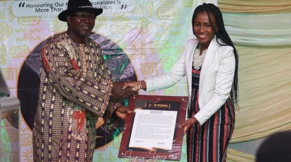 UG's Dr. Patience Aseweh Abor honored for her contribution to rural development
