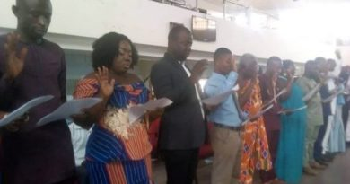 New Assembly and Unit Committee members sworn-in at Adenta