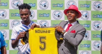 FC Lion Blessed defender Joel Noukue happy to join Kenyan giants Sofapaka FC