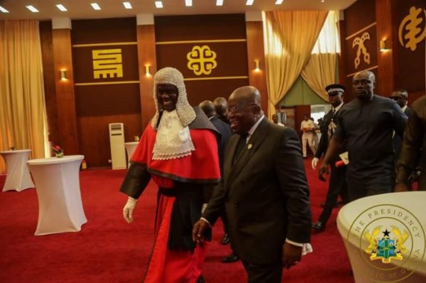 Bring respect to the Judiciary – Akufo Addo to CJ Anin-Yeboah