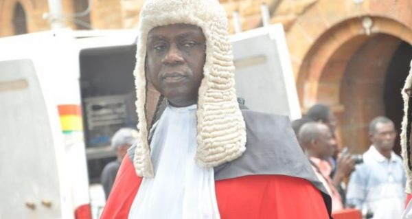 Akufo-Addo swears in Anin Yeboah as new CJ today