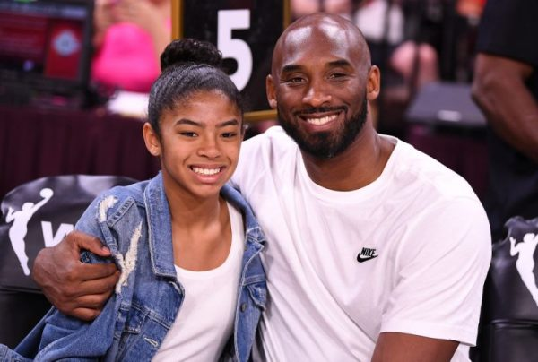 Kobe Bryant with his teen daughter Gianna