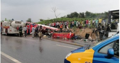 No vehicle run over Dompoase accident victims – Police Commander