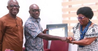 University of Ghana Alumni Association honours Multimedia Group CEO