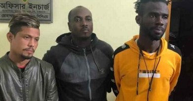 Bangladesh: Two Ghanaian footballers arrested for drug possession