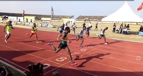How do we define track and field in Ghana?