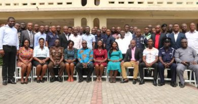 GSS trains Police on mortality statistics under the Bloomberg data for health initiative
