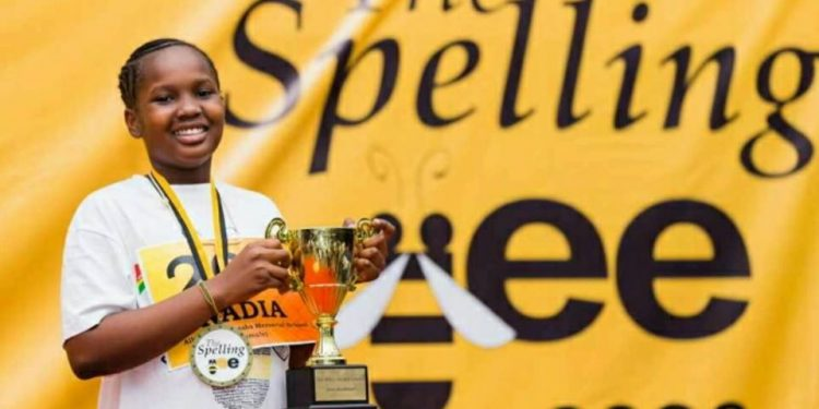 Nadia Chelpang adjudged 2020 Spelling Bee competition champion