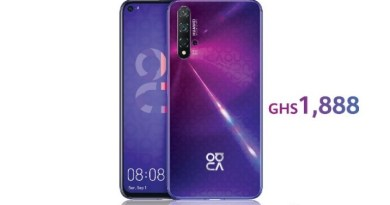 Pre-order the new Huawei nova 5T and get GHC899 in gifts and accessories
