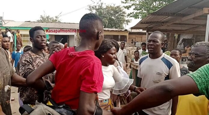 C/R: Two mobile money fraudsters nearly lynched @ Awutu Bereku