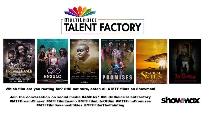 7th Africa Magic Viewers' Choice Awards nominates 6 films in new Multichoice Talent Factory Award category