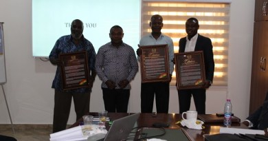 PIAC Honours Out-Going Members