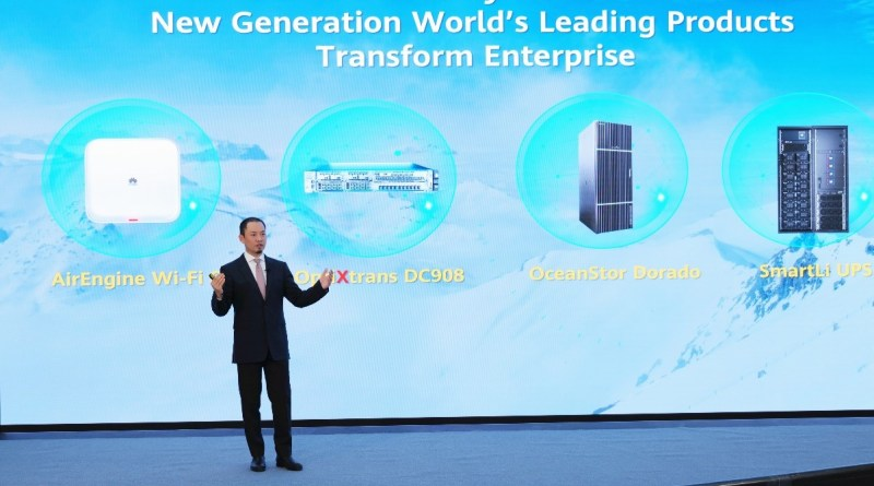 Qiu Heng, President of Global Marketing, Huawei Enterprise BG
