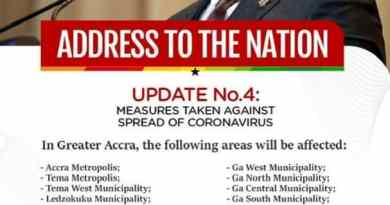 Partial Lockdown of Accra and Kumasi: Here is Akufo-Addo's full statement