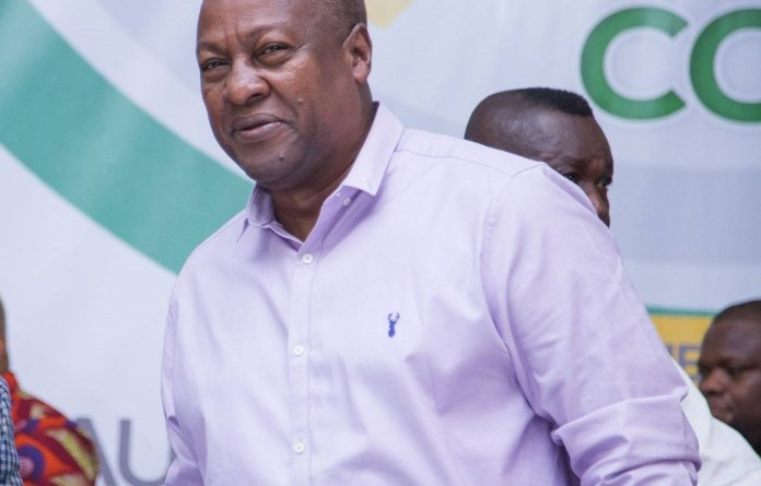 Ghana@63 Parade: Mahama notified State Protocol of his absence