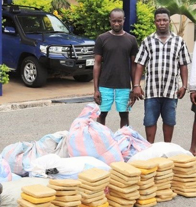 Police grab Marijuana Cartel in a dawn operation at Ve-Koloenu