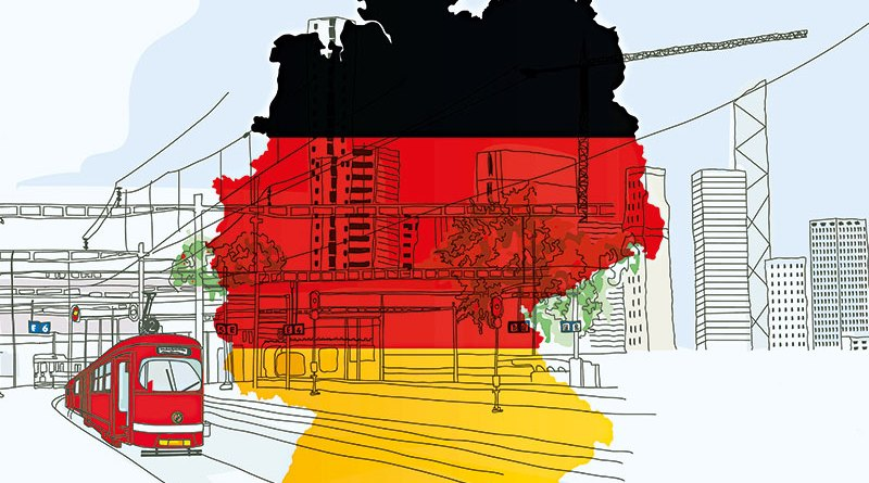 seven factors for Germany's economic strength.