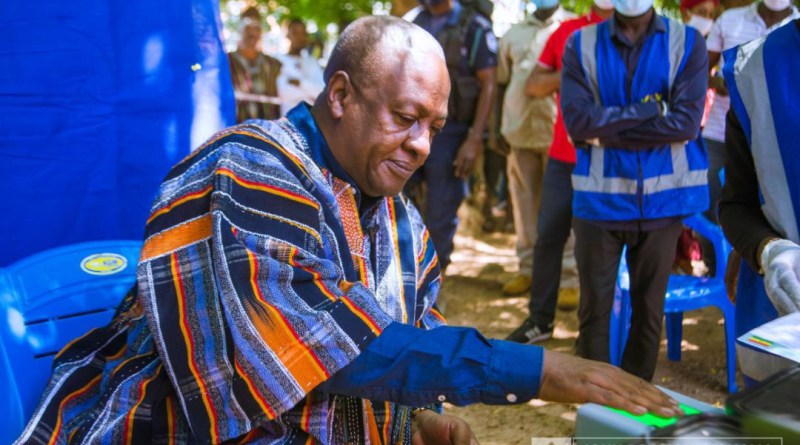 Mahama Promises a Just and Equal Society for All