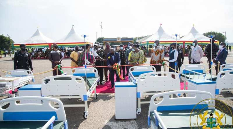 Akufo-Addo donates 10,000 Hospital Beds