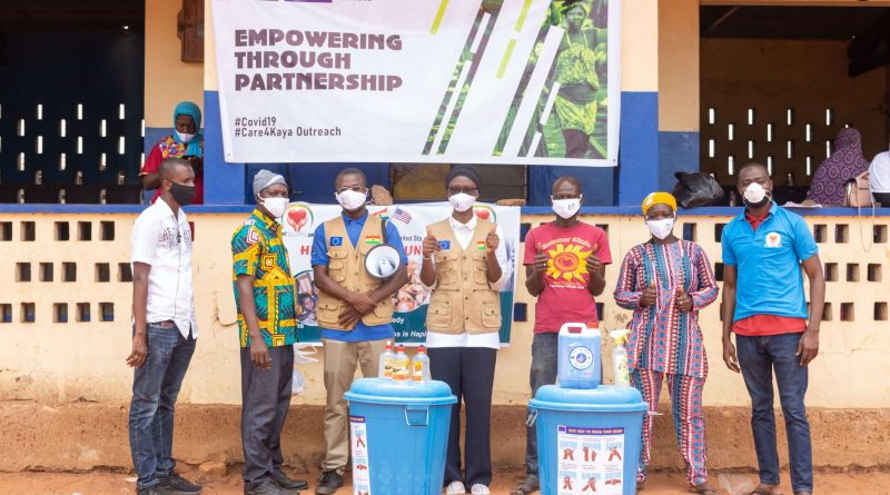 EU, Ink Ghana Support Kayaye in COVID-19 Outreach