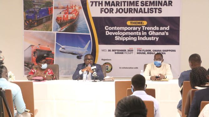 GSA trains Journalists on Contemporary trends in Ghana's Shipping Industry
