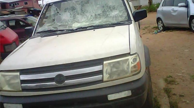 "Landguards Strike at Mallam Junction: Warning Shots Fired, Chief attacked, Car, Stores vandalized. Residents at Mallam Junction in the Gbawe-Weija Constituency of the Greater Accra region witnessed an ugly scene on Monday, September 14 2020, when the chief of the area, Sen Tse Nii Boye I, was attacked by land guards believed to be led by one Pampankus, a professed notorious landguard, who also styles himself as chief of the same area. What marveled spectators of this ugly scene most was that the incident took place just a few meters away from the police post at Mallam Junction. But for the swift intervention of the police, led by Sulemana Baba, Nii Boye would have been lynched by the marauding mob. In the ensuing mealy, gun shots were fired, and Nii Boye was pounced upon by the mob and beaten to pup. The windscreen of his pick-up car with registration no. GS 914-10 was smashed and his chop and drinking bars ""were attacked, glasses and chairs broken, sending workers there fleeing for their dear lives. In the process, undisclosed amounts of money got missing, with food prepared for the day getting contaminated with broken glasses. Cecilia Boye, one of the workers at the chop bar also got wondered in the left thigh by a piece of broken glass. Victims Story Narrating his ordeal to ghananewsonline.com.gh. Nii Boye, aka George Kwartey Boye Quertey and popularly referred to as Adam Nana, stated that he has a transport union- PROTOA at Mallam Junction, Which he has operated for some time now along side his chop and drinking Bars. He indicated that he had lived at Mallam Junction for over 20 years until last year, when the head of the Gbawe Kwartei family, Nii Adam Kwartei family, in charge of lands there enstooled him chief, (Sen Tse) for Gbawe Sakumono. (Mallam Junction and its environs) under the stool name, Nii Boye I. Meanwhile this Pampanku Guy has also proclaimed himself Chief for the area, with the stool name Nii Ayi Okufubour I. Nii Boye stated that when he woke up in the morning of Monday. September 14 2020, he noticed pieces of white calico cladded around electricity poles in his area, as well as gates to his house and inside his lorry station. Report To The Police According to Nii Boye, He had gathered that the Self-styled Chief Nii Okufubour, a,k,a Pampanku wanted to install a new Chief (Asafoatse) there hence the display of Pieces of white calico in the area. He stated that not feeling easy about the station, he reported the matter to the Mallam Lafa police Station, where he was given an extract for onward presentation to the Odorkor Divisional Headquarters. Nii Boye stated that a few meters to the Mallam Junction Police Post on his way to Odorkor around 10am a marauding crowd blocked the way, compelling him to pull to a halt since he could not run through them. He recounted with pain, that, just as he pulled to a halt, the marauding crowd, numbering over 40, rushed on him, smashed his car wind screen with a piece of block. The embattled Chief indicated that, sensing danger, he pulled his gun, which he carries in his car everytime and gave warning shots to disperse the crowd, since he could not fire through them. He indicated that just before he could say ""Jack"" the marauding crowd had pounced on him, disarmed him, dragged him out of his car and beat him to pulp, while dragging him on the ground. He maintained that in the process he lost everything on him (Phones, money sandals and many more). Police Intervention According to Nii Boye, the Police on duty at the post at the time led by Baba intervened by firing warning shots to disperse the surging marauding crowd, who were bent on bringing their commotion to the police post. The embattled Chief said after his rescue by the police, he was placed in a taxi, cap and rushed to the Odorkor Police in tatted Clothes. Comedy at the Police Station Nii Boye narrated with sadness that on reaching the Odorkor Police station, Pampamku, who seemingly has a stake as some say at the Police station had reported that Adam Nana and some people from Gbawe, had beaten one of his men and destroyed his palace, (virtually placed under the Lapaz - Mallam N1 overpass) the previous day. Subsequently, on reaching the Police station, he was detained without the Police taking his statement or being sent to the hospital. As fate would have it, Nii Okofio III, Gbawe Otozoa Mantse was also detained alongside NII Boye. Our information is that based upon Pampanku's report, (Pampanku is said to be a member of the National Security) Nii Okofio had been tasked to bring to the station one guy, believed to have taken part in the alleged attacked on Pampanku. However, on reaching the station, he was detained alongside NII Boye. The two detainees here held up there till late Tuesday when they were released and charged to appear before court on Thursday, September 17th 2020. It was after their release before that the embattled Chief Nii Boye had to claim a medical form and lodge a formal complaint on his attack and the vandalization of his car and stores, which the Police went to inspect. More Comedy While at the Ordorkor Police Station that fateful Monday, September 14, Pampanku's Boys were palpably seen charged and threatening Nii Boye as some even surged on him. Also, some threatened officers from the Mallam Junction Police Post who were invited there for their evidence that if they did not take care they would be stripped off their police uniforms. It was with difficulty that the command had to stamp his authority. Nii Boye's Daughters Grand Daughter Detained. As the comedy at the station unfolded, two daughters of the detained Chief Nii Boye, were also detained. Kwartey and Kwakor, together with their two-and-half year old daughter, Daniela were placed at counter back for over three hours on the orders of the Commander, for allegedly making noise at the station. Meanwhile, nothing was done to the charged and marauding Pampanku Boys, who apparently did not only make the place ungovernable, but also chaotic. By S.O Ankamah"