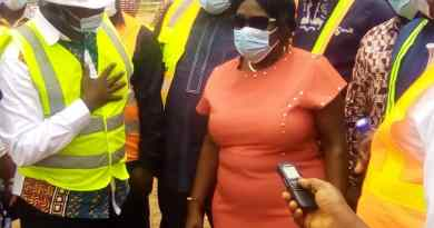 Sanitation Minister Inspects Sewerage Projects at Bankuman and Ashaiman