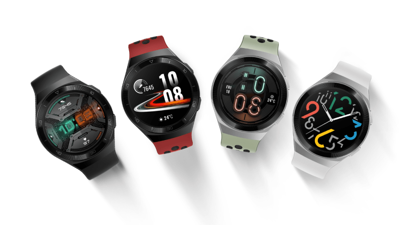 Track your health and fitness with the new HUAWEI WATCH GT 2e
