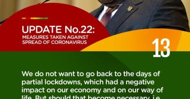 Full Text: We do not want to go back to the days of partial lockdowns – Akufo-Addo on Covid-19