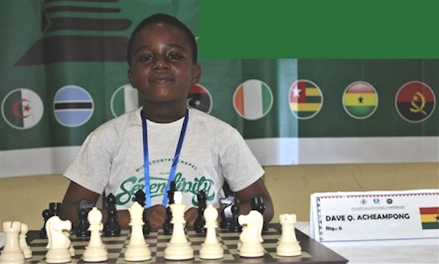 8-year old Primary 3 pupil wins African Chess Championship Online