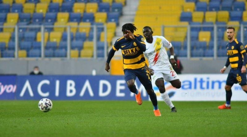 Ghanaian forward Joseph Paintsil scored twice for Ankaragucu in their 4-3 defeat at Alanyaspor in the Turkish Super Lig on Monday