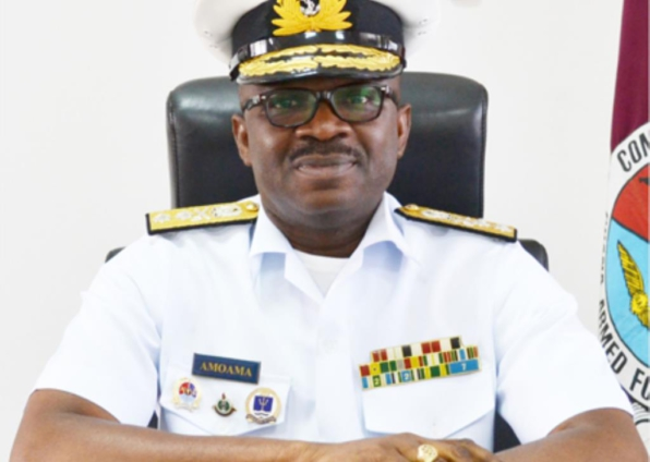 Akufo-Addo appoints Rear Admiral Seth Amoama to act as new Chief of Defense Staff