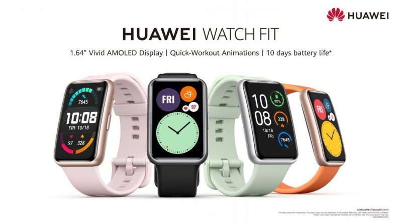 HUAWEI WATCH FIT; The perfect smartwatch for everyone