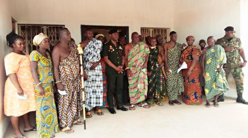 Takla Chiefs grateful for Millitary Command's recognition