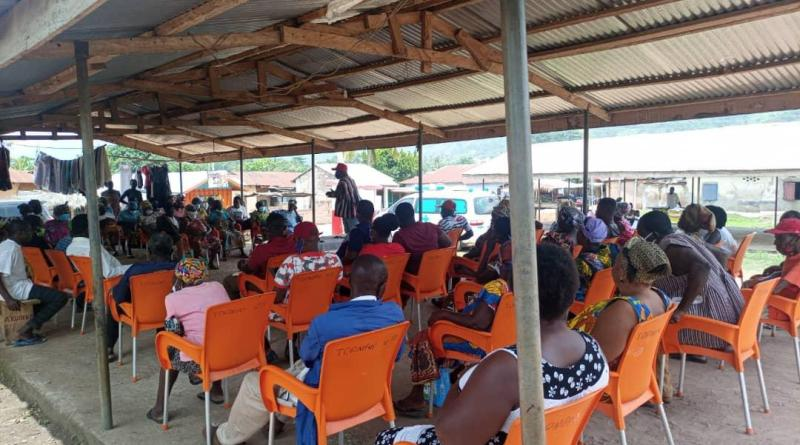 Hon. Dafeamekpor holds Town Hall Meetings in South-Dayi