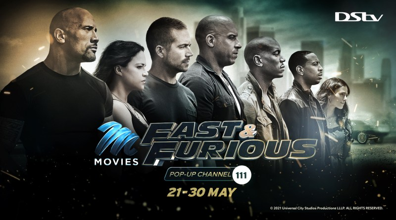 Fast & Furious Pop-Up Channel Drifts Back to DStv by Popular Demand Ahead of the Latest Film Release